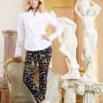 Printed trousers by UP! Pants